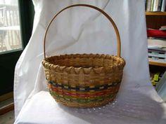 Round Handwoven Basket