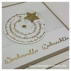 Stempel-Kreativ.de - Kreativ Karten gestalten: Die erste Weihnachtskarte ...