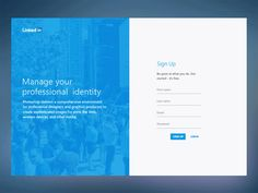Linkedin-Redesign-Concept