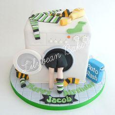 lego washing machine birthday cake - Google Search