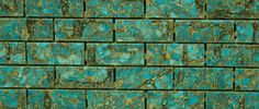 Our Mosaic Turquoise tile looks stunning with our gold matrix!