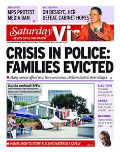 #SaturdayVision is already on the Streets. Grab yourself a copy now.-https://vpg.visiongroup.co.ug/flippaper/personal/