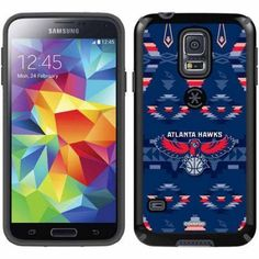 Atlanta Hawks Tribal Print Design on Samsung Galaxy S5 CandyShell Case by Speck