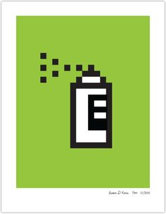 Mac Iconography Poster: Spray Paint