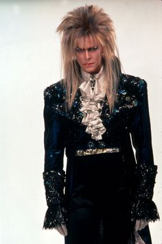 I had the misfortune of being introduced to Bowie by this movie. To this day, this is the only way I picture him.