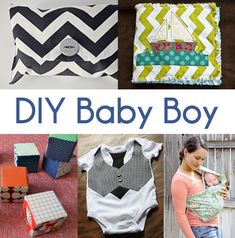 DIY Baby Stuff, very cute clutch for diapers or other baby stuff