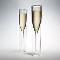 8. Inside Out Champagne Glasses, $70 for set of two | 37 Unique Glasses To Make Happy Hour Even Happier