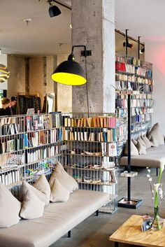 Michelberger Hotel - design boutique hotel in Berlin.
