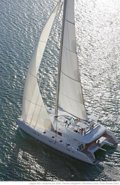 Choose among crewed yacht charters available in the Bahamas. Explore colorful islands, sandy beaches and crystal clear waters onboard a luxury yacht. Luxury Sailing Yachts, Sailing Catamaran, Sailing Ships, Cienfuegos, Vinales, Catamaran Design, Salt Water Swimming Pool, Les Seychelles, Cuba
