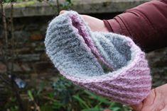 bandeau point étoile tricot  1 pelote de Andes de Drops design > 1 pelote d'alpaca bouclé de Drops design > Aiguilles taille 6