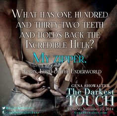A snippet from The Darkest Touch!