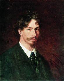 'Zelfportret',1878 / Ilja Repin (1844-1930) / Russisch Museum, Sint-Petersburg, Rusland.