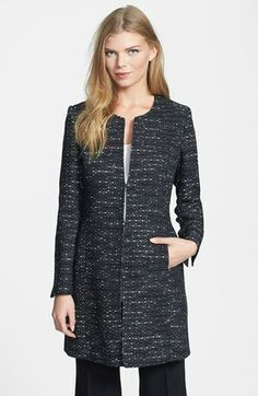 Santorelli Tweed Topper available at #Nordstrom
