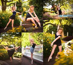 Allison Clarke Photography: Annie and Caroline demonstrate pointe and contemporary dance poses in the gardens of Prescott Park. Dance Senior Pictures, Dance Picture Poses, Dance Photo Shoot, Ballet Pictures, Dance Pics, Senior Photos, Contemporary Dance Poses, Contemporary Dance Photography, Outdoor Dance Photography