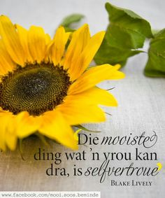 Die mooiste dint wat 'n vrou kan dra, is selfvertroue Giving Quotes, Afrikaanse Quotes, Godly Woman, Blake Lively, True Words, Christian Quotes, Verses, Prayers, Spiritual