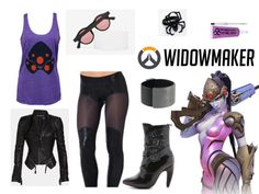 Kicking off a series of Overwatch-inspired outfits with the one and only Widowmaker! Sheer Leggings, Overwatch, Widowmaker, Lip Tar, Black Milk, Blank Nyc, Geek Out, Geek Culture, Jeffrey Campbell