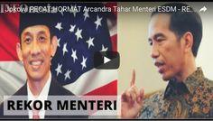 ARCANDRA TAHAR KORBAN PRESIDEN AMATIRAN  Presiden Joko Widodo akhirnya memberhentikan dengan hormat Menteri Energi dan Sumber Daya Mineral Arcandra Tahar Senin (15/8/2016) malam yang baru dilantik Jokowi 20 hari lalu. Pencopotan ini menyusul isu dwi-kewarganegaraan yang dimiliki Arcandra. Jokowi yang gagah saat melantik sang menteri tapi saat mencopot tak tampil sendiri dan diserahkan pada bawahannya. Publik kebanyakan menilai bukan si menteri yang salah tapi justru Presiden yang telah…