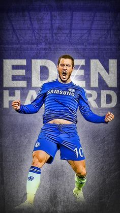 EDEN HAZARD Chelsea Blue, Chelsea Fans, Chelsea Football, Best Football Players, Soccer Players, Football Team, Chelsea Champions, Eden Hazard Chelsea, Chelsea Players