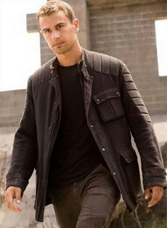 "Tobias ""Four"" Eaton (Divergent) Again, the movie's casting is actually spot on. Exactly how I pictured him."