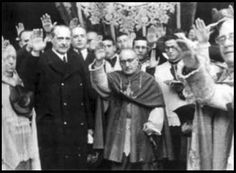 "Catholic Clergy saluting Hitler.- This is idolatry and a mixing of religion and politics. Jehovah's Witnesses went public and told people what was happening. Hitler vowed to ""exterminate"" them."