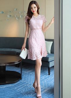 Korean Women`s Fashion Shopping Mall, Styleonme. Korean Girl Fashion, Korean Fashion Trends, Asian Fashion, Fashion Top, Pretty Short Dresses, Beautiful Dresses, Sexy Asian Girls, Beautiful Asian Girls, Fashion Figures