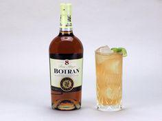 Quetzaltenango Cooler 4,5 cl de Ron Botran 8 1,5 cl de licor de pera  1 cl de zumo de lima 1 cl de sirope de azúcar Routin 1883 Ginger ale   Receta de Mauri Jiménez, de Cocktailsperquesi #Botran #RonBotran #Cocktails #Ron