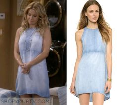 Bella Dahl Open Back Halter Dress as seen on D.J. Tanner ...