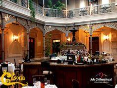 TURISMO EN CHIHUAHUA. En Restaurante LA CASONA, contamos con una cava donde podrá degustar de los mejores vinos mexicanos y extranjeros. Además, no puede dejar de disfrutar de nuestros exquisitos platillos fusionando sabores europeos e indígenas. Le invitamos a solicitar informes al teléfono (614) 410 0063 o 0043 o a visitar nuestro sitio web www.casona.com.mx. #visitachihuahua