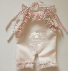 Image of Girl Extra Small Newborn Rompers