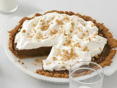 Mexican Chocolate Cream Pie | Ground red pepper adds a subtle but distinct kick to the pie, while instant espresso powder intensifies the flavor. Omit either or both if you prefer a standard chocolate cream pie.