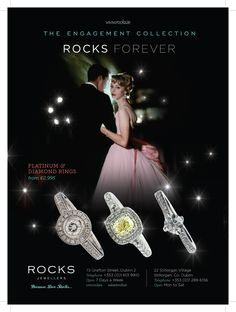 Did you spot Rocks Jewellers? Diamonds really are the perfect way to say I love you... #loverocks www.rocks.ie