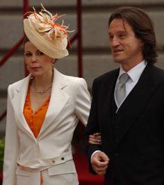 "Princess Kalina of Bulgaria with husband don Antonio José ""Kitín"" Muñoz y Valcárcel.  They have one son, Simeon."