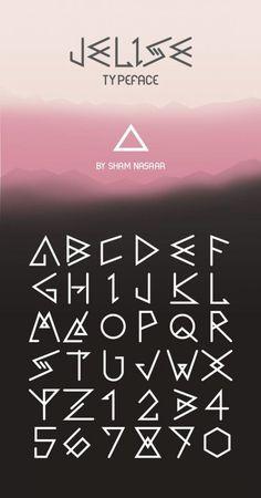 Caligraphy Alphabet Discover Fonts - Kerrie Legend Jelise Typeface by Sham Nasaar. Alphabet Code, Alphabet Symbols, Font Alphabet, Tattoo Alphabet, Caligraphy Alphabet, Alphabet Writing, Alphabet Stencils, Bullet Journal Font, Journal Fonts