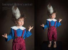 Conceptual children's portrait     Photographer: Alena Balabanova   Fashion Designer & Stylist: Anastasia Kurbatova   Post-production - Anastasiya Kurbatova   MUAH: Anastasia Loginova   Model - Nikita  2013