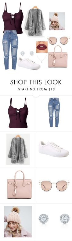 """""""Untitled #68"""" by magda-afifi on Polyvore featuring LE3NO, Yves Saint Laurent, Fendi and My Accessories"""