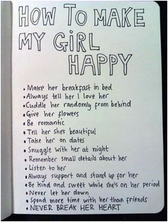 For those guys who want to make their girl happy ^-^