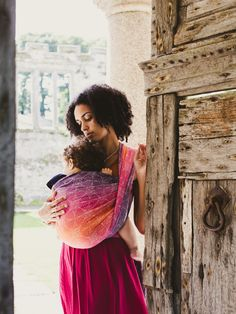 Orion Cosmos baby wrap made in Scotland by Oscha Slings from organic combed cotton, pure bamboo and cotton.
