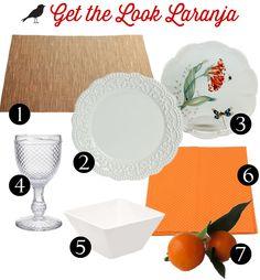 mesa laranja, get the look, mesa posta, como colocar a mesa, mesa decoração, casamento