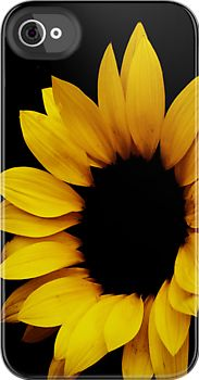 SunFlower IPhone-case by Els Steutel