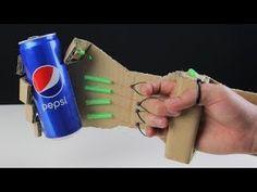 Kartondan Robot el yapımı! - YouTube