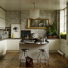 modern kitchen traditional island counter stone granite lighting lights appliances barstools style design decor harwood flooring