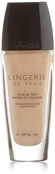 Guerlain Lingerie de Peau Invisible Skin Fusion Foundation - Best foundation for acne prone skin