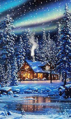 зима | живые картинки | Постила
