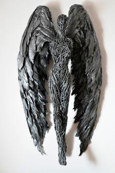 El artista británico Richard Stainthorp realiza esculturas de alambre que sorprenden a todo el público que las ve