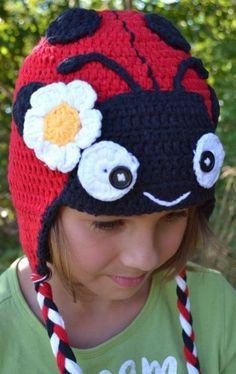 Children's Crochet Flower Hat