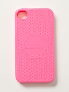 Roxy - Penny Board iPhone Case - Pink