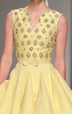 Georges Hobeika Haute Couture Spring 2015 - Details