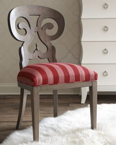 Striped+Accent+Chair+by+French+Laundry+Home+at+Horchow.