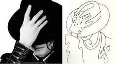 Resultado de imagem para michael jackson desenho