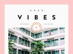 Good Vibes designed by Vedad Siljak. Connect with them on Dribbble; the global community for designers and creative professionals. Website Design Layout, Layout Design, App Design, Design Files, Print Design, Site Portfolio, Modern Website, Magazine Cover Design, Print Layout